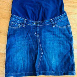 Boden Maternity Denim Skirt- Size 4